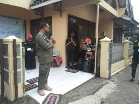 Hari Wahyudi Turut Hadiri Penyerahan Disinfektan Di Suryowijayan